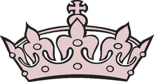 banner transparent library Grayish pink clip art. Clipart tiara