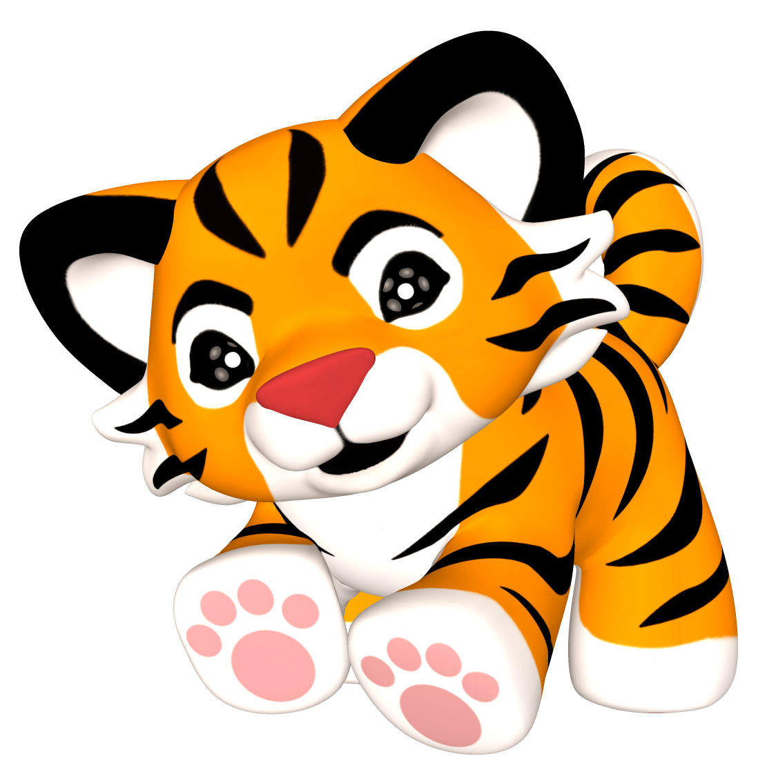 clip art free free tiger paws clip art