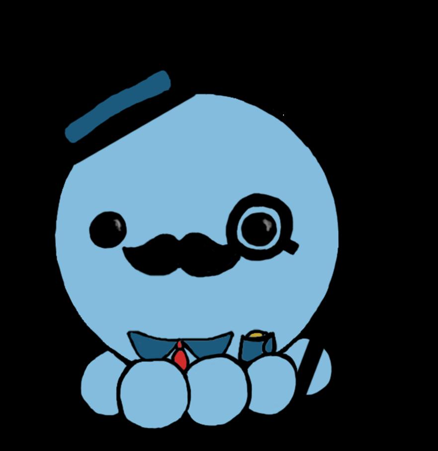svg free library drawing kawaii octopus #94434528
