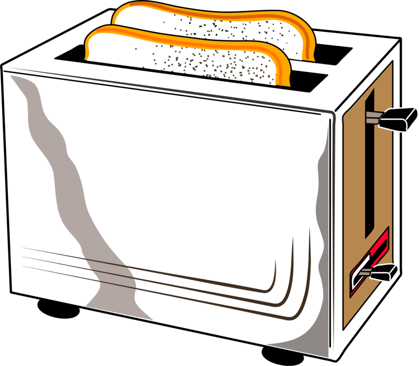clip art stock Home appliance can stock. Clipart toaster.