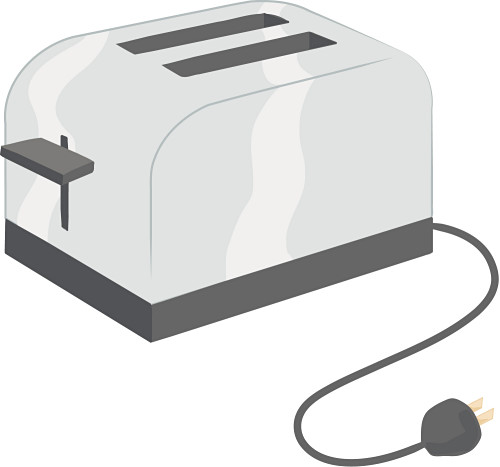freeuse download Toast clip art library. Clipart toaster