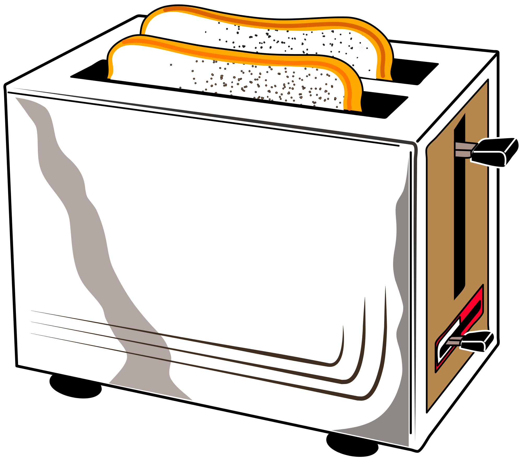 jpg black and white File svg wikimedia commons. Clipart toaster.