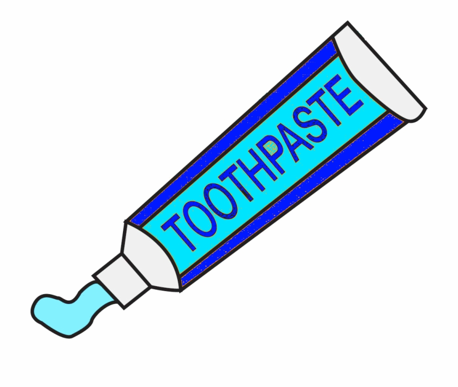 jpg library Clipart toothpaste. Free png image picture
