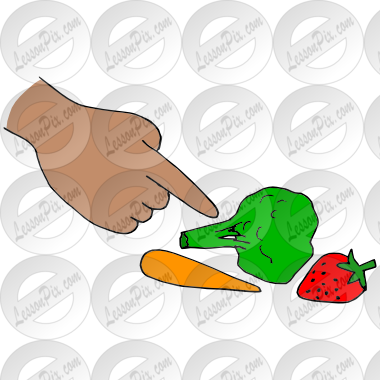 clipart freeuse Touch Food Picture for Classroom