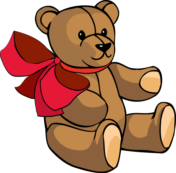 jpg freeuse library Teddy Bear Toys Clipart