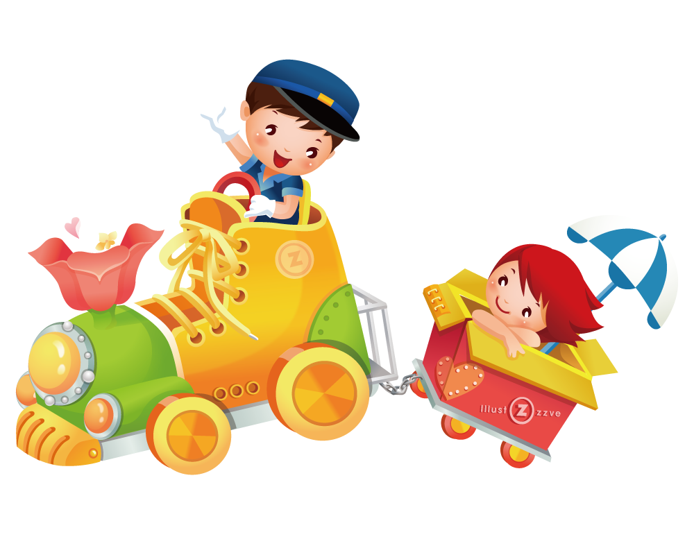 jpg library Kids playing with toys clipart. Child toy clip art.