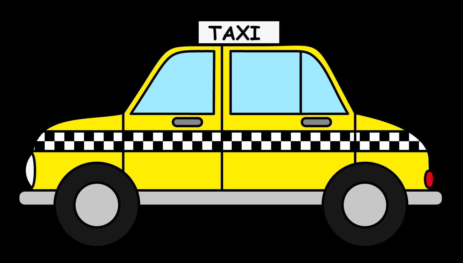 clip art free Transportation at getdrawings com. Taxi drawing.