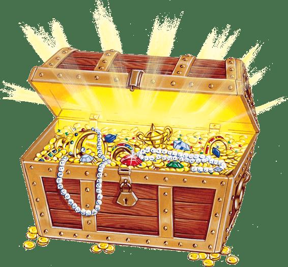 clip freeuse library Open treasure chest transparent stick clip art