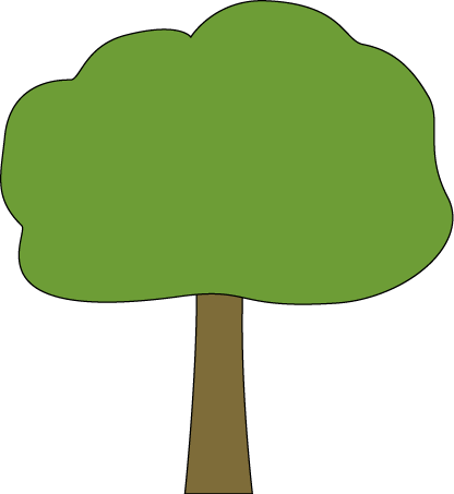 vector royalty free stock Tree Clip Art