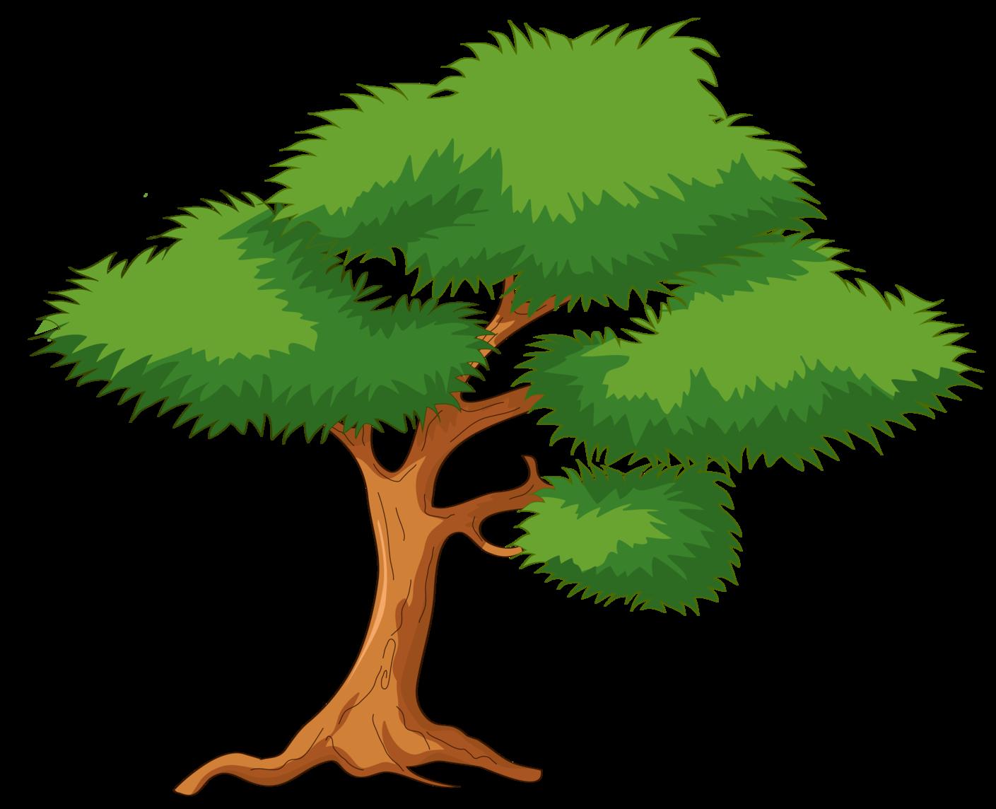 vector freeuse download Green png clip art. Life clipart cartoon tree.