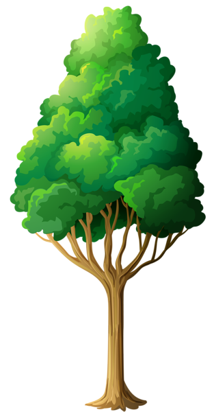 svg royalty free stock Green Tree PNG Clipart