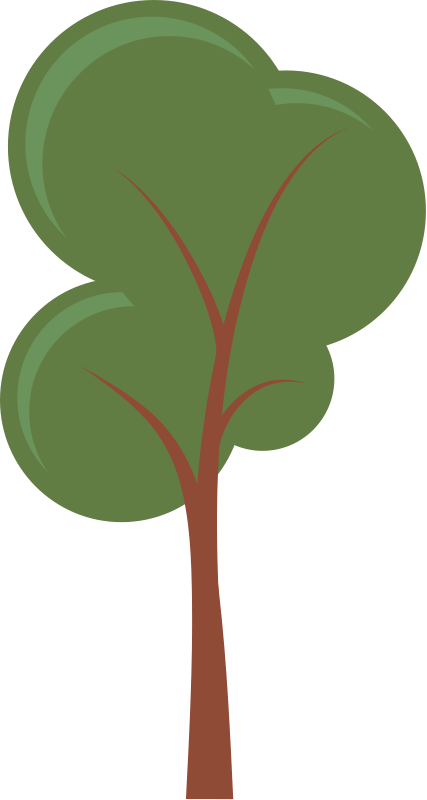 vector library stock Tree Clipart