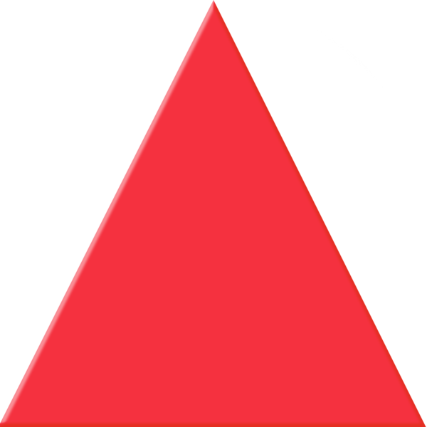 jpg transparent stock Red Triangle