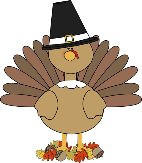svg library library Cute Turkey Clipart