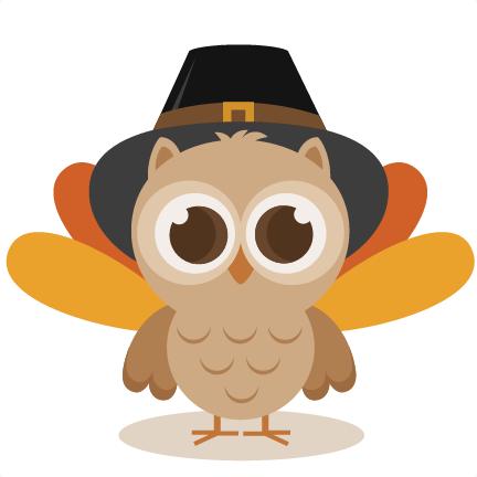 picture transparent download Thanksgiving Owl SVG cutting file thanksgiving svg cuts cute clip