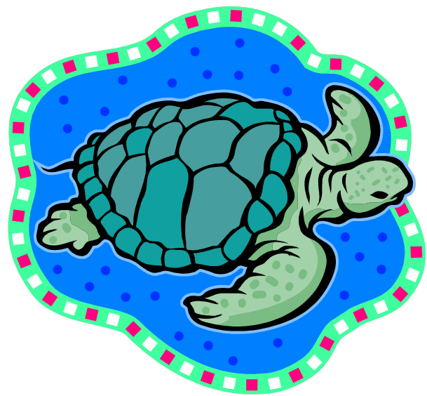 png black and white library Baby sea turtle clipart. Clip art panda free
