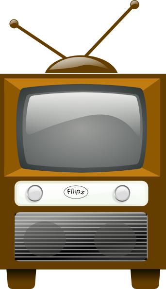 jpg Old Vintage Tv Clipart