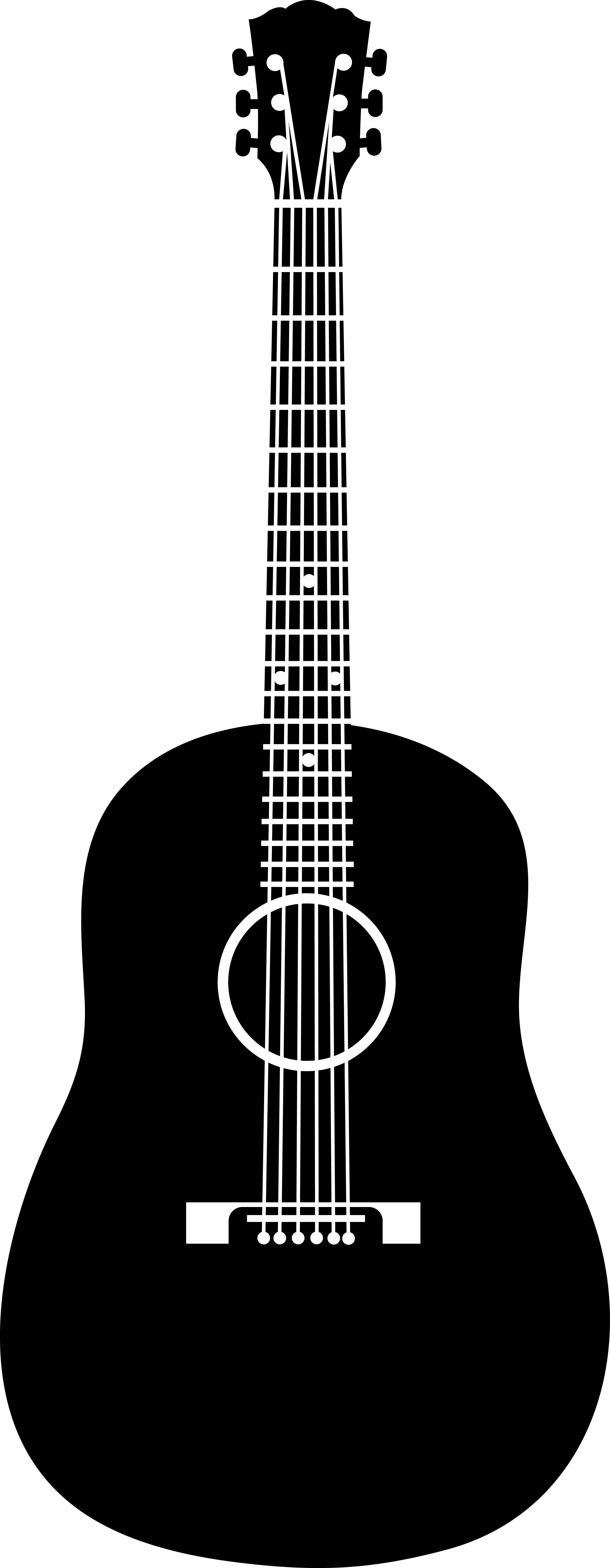clipart transparent download Acoustic clipart. Ukulele png black and
