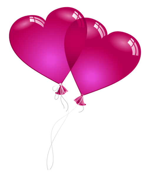 clip art download Valentine Heart Baloons PNG Clipart Picture