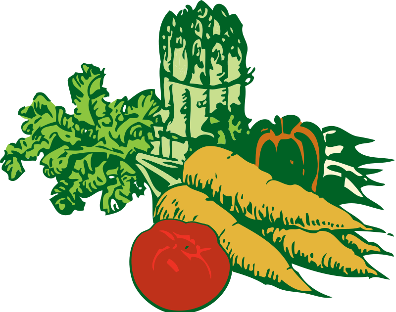 picture freeuse download Vegetables Clipart