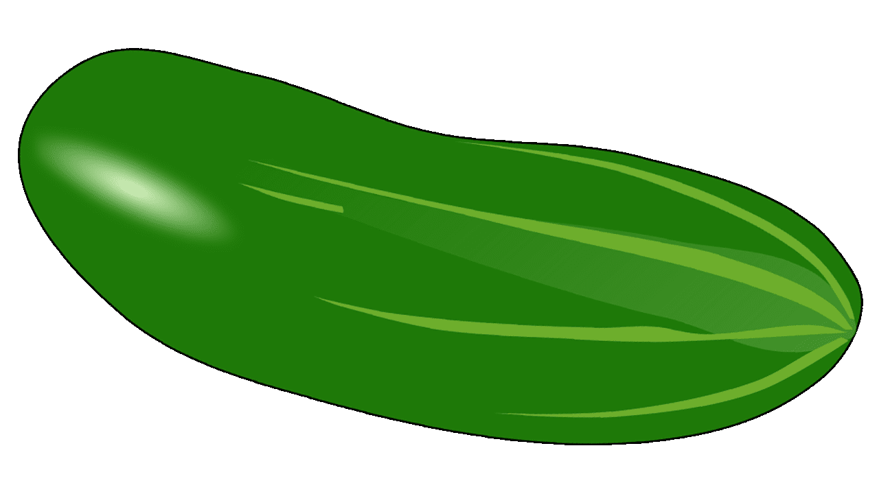 jpg freeuse download Vegetable clipart.  cool cucumber free