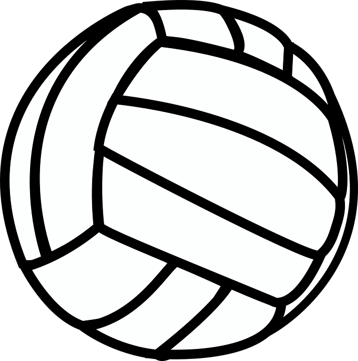 freeuse Vector bulldog volleyball. Clipart cute free on