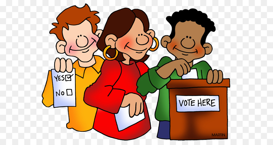 download Child background text cartoon. Clipart vote election