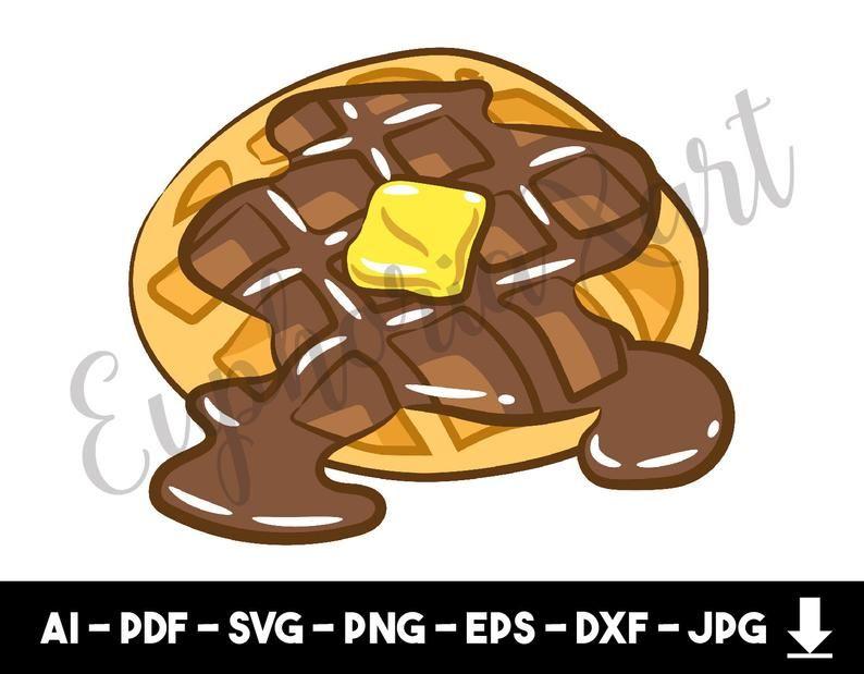 image free stock Clipart waffle. Svg pancake