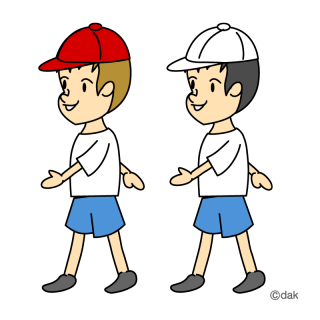 walking clipart