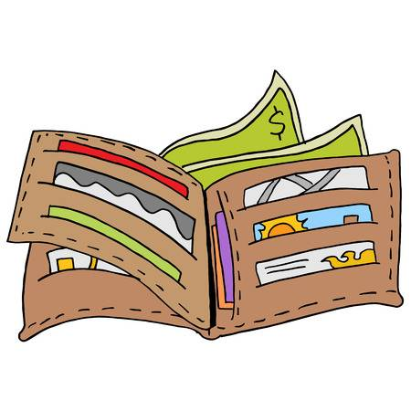 jpg library library  clipartlook. Clipart wallet