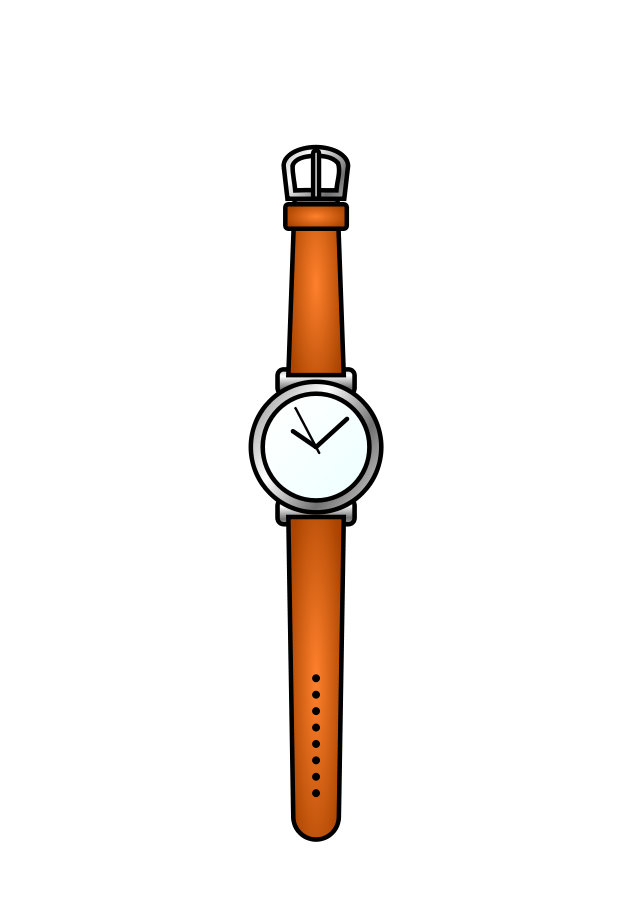 banner stock Watch Clipart