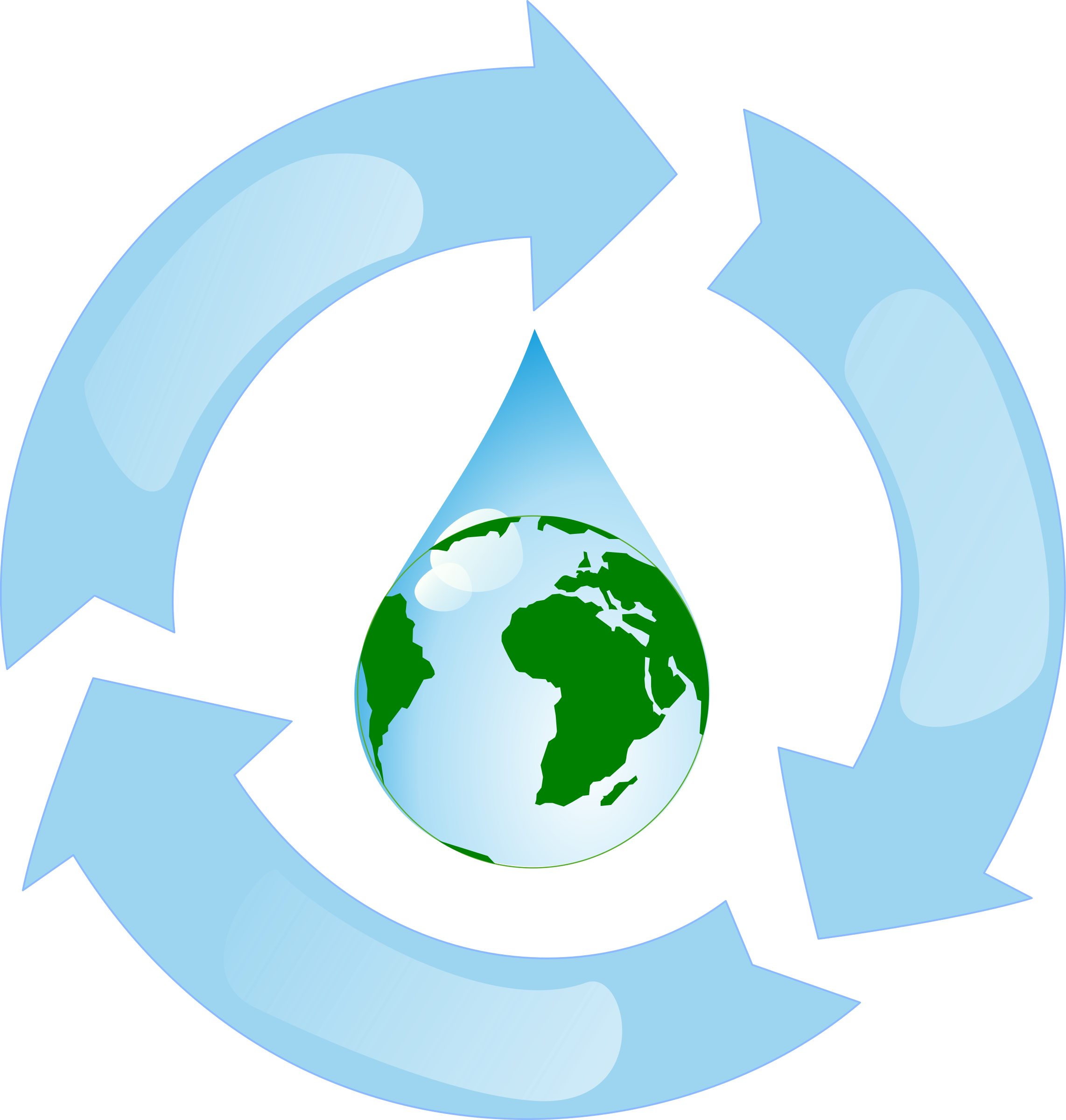 picture free stock Water. Recycling clipart.