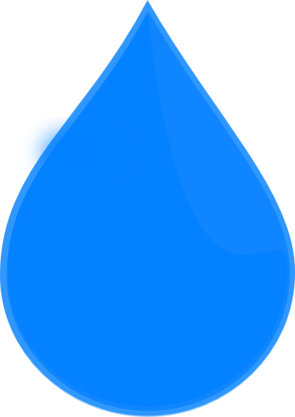 svg freeuse library Blue Water Drop Clip Art at Clker