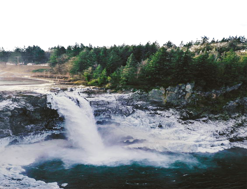 banner library Waterfall PNG TRANSPARENT FREE by TheArtist
