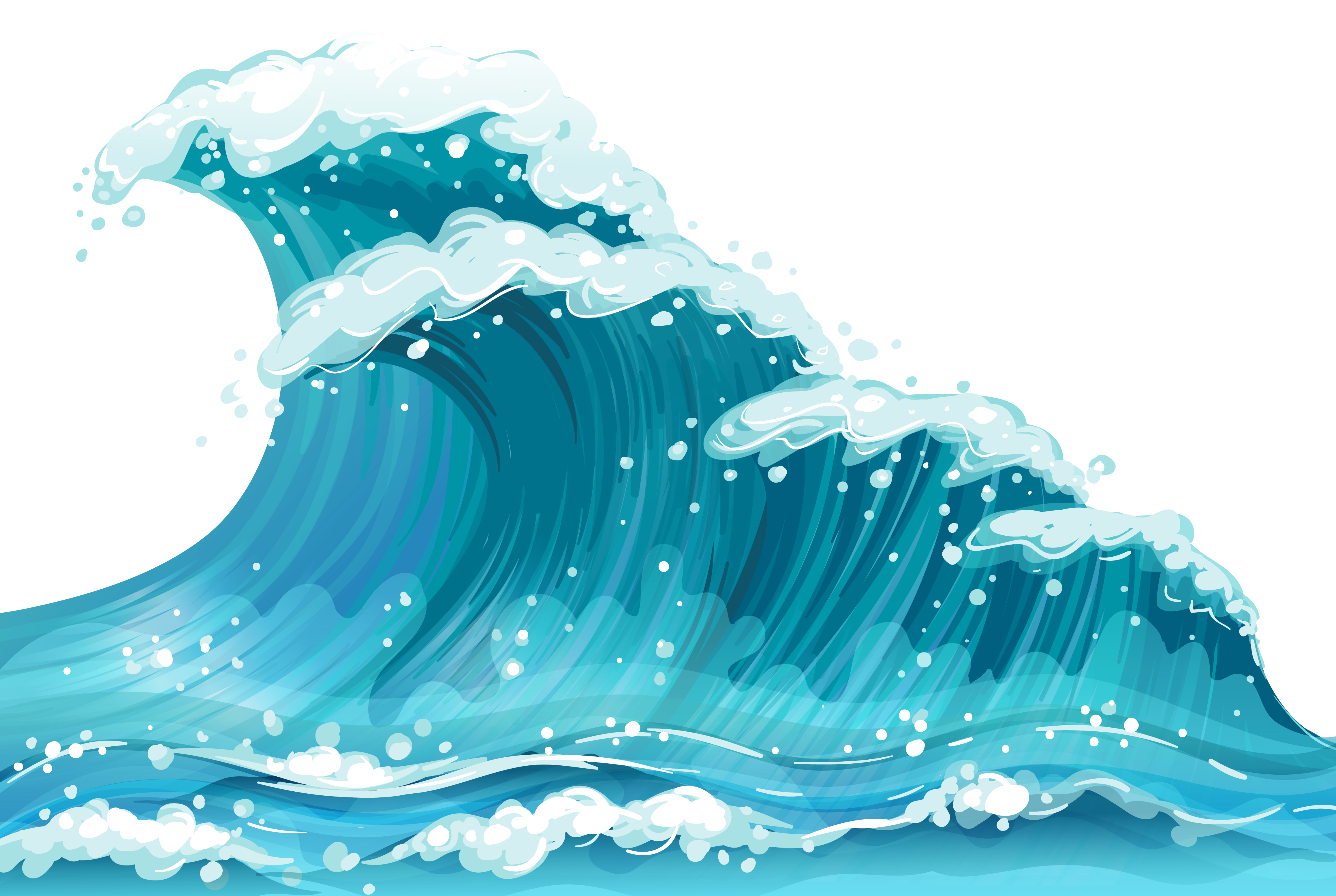clip library stock Wave gclipart com power. Waves clipart.