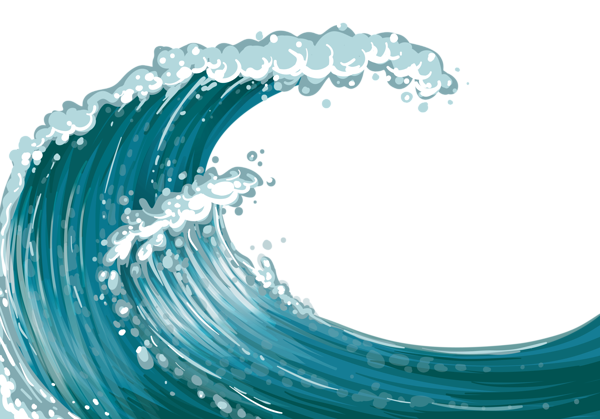 vector freeuse Sea Wave PNG Clipart