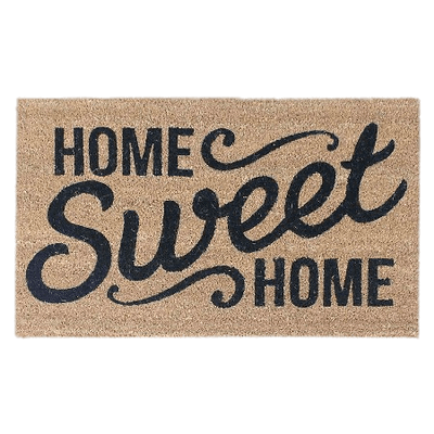svg freeuse download Home sweet doormat transparent. Clipart welcome mat.