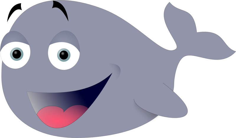 svg free library Funny medium image png. Clipart whale