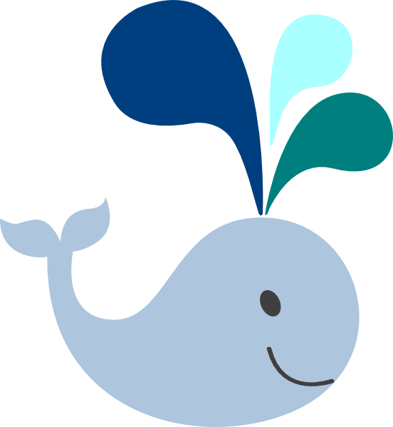 png royalty free stock Cute whale clipart. Baby clip art little