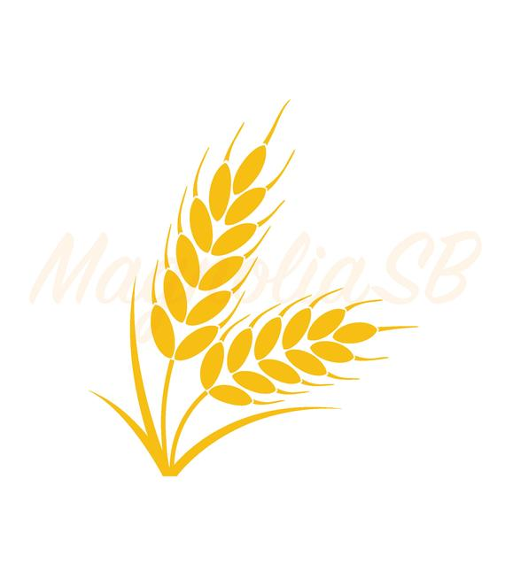 image black and white download Svg dxf cutting vector. Clipart wheat