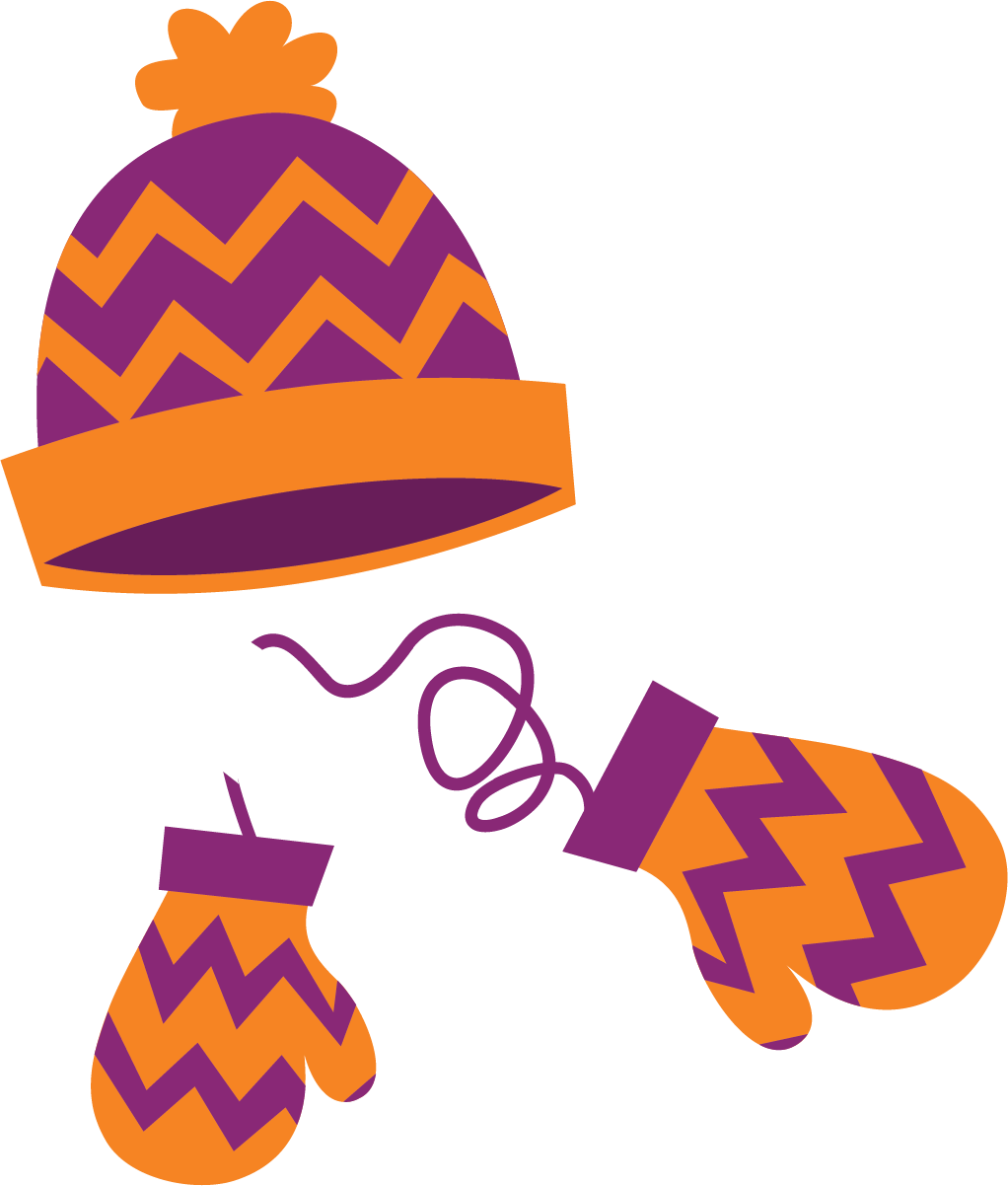 picture freeuse download Mitten clipart orange. Image result for winter.