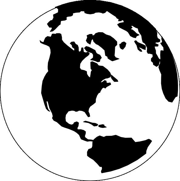 picture library stock Clip art google search. Globe clipart black and white.