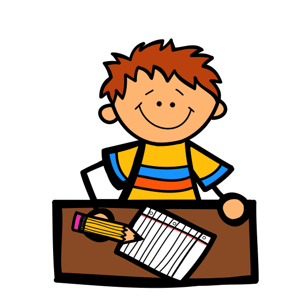 clipart freeuse stock Boy writing clipart. Letter a clipartfest hist