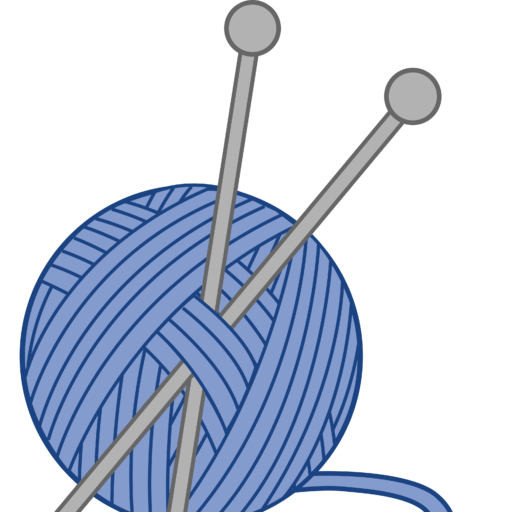 royalty free library Patterns windswept knits . Clipart yarn and knitting needles