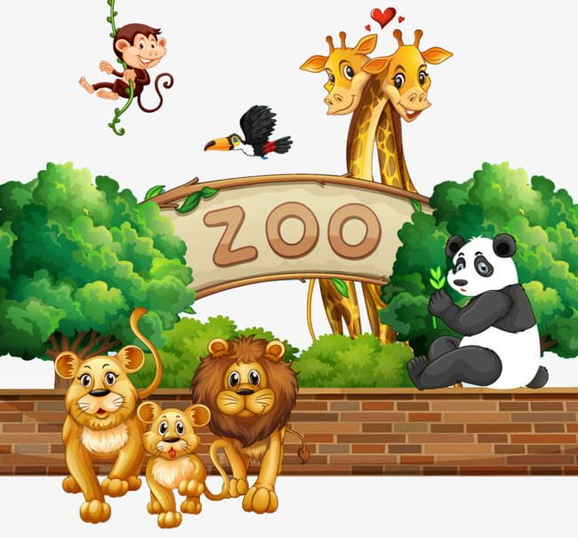 vector free download Small animals png animal. Clipart zoo.