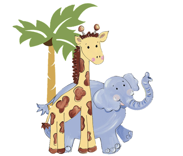 clip freeuse download Clipart zoo animals. Animal prints birthday invitations