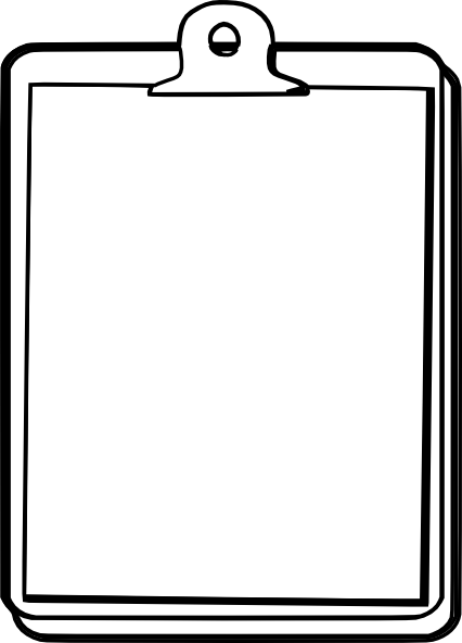 graphic library library Clipboard Clip Art at Clker
