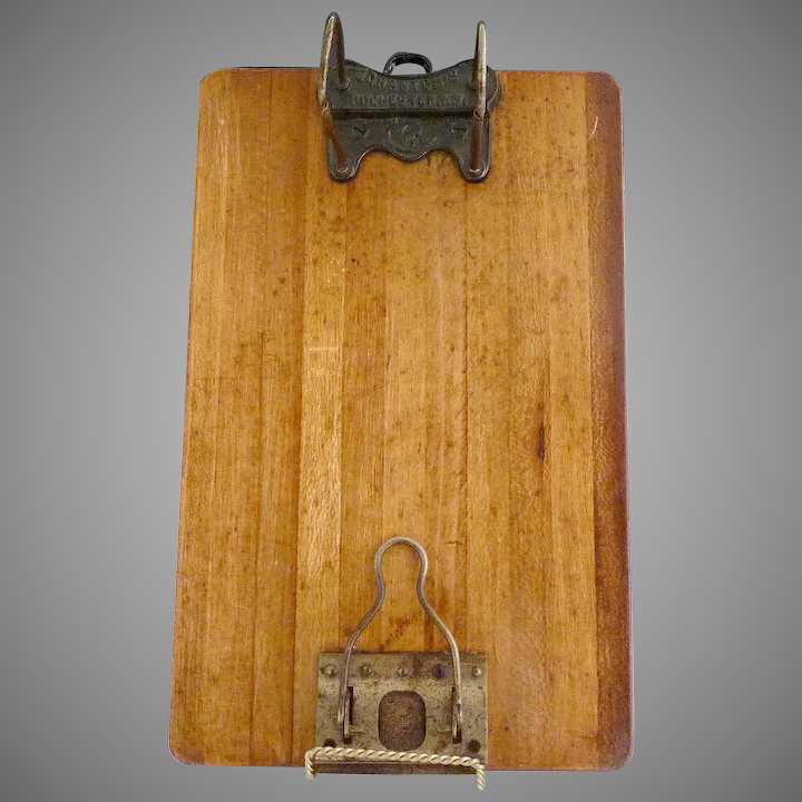 graphic royalty free stock Wood shannon arch scrantoms. Clipboard clip antique