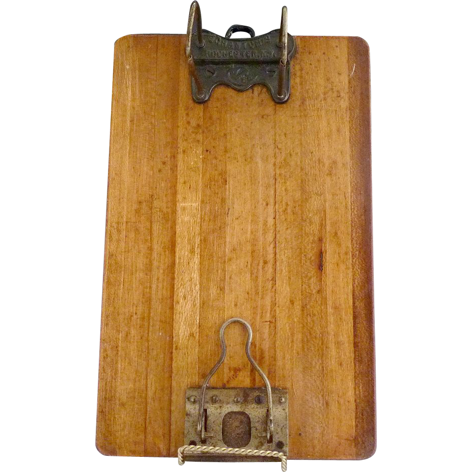 picture royalty free Wood shannon arch scrantoms. Clipboard clip antique
