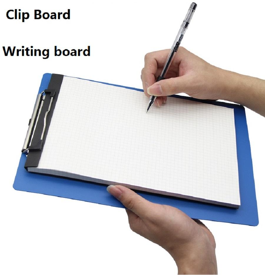 vector freeuse Board clip writting. Filing supplies a size